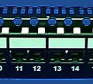 Панель 24хRJ45, Кат.5е, не екран., ULAN чорн.