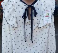 Дитяча шкільна блуза для дівчинки
