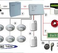 Проектирование системы оповещения о пожаре