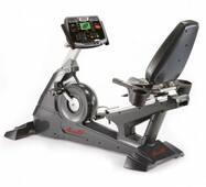 Профессиональный горизонтальный велотренажер AeroFit 9500R LCD