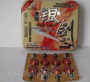 Silver Sword Срібний Меч препарат для підвищення потенції 8 пігулок 8 кульок в упаковці