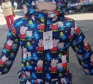 Осіння куртка для дівчинки