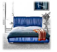 """Ліжко """"Шарлота"""" (160 см)"""