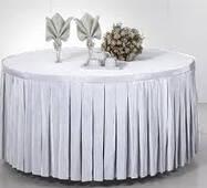 Фуршетная юбка Модель 4 Белый