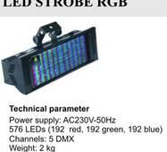 Світловий прилад LED-STROBE RGB