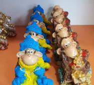 Патриотическая обезьянка-сувенир-Распродажа