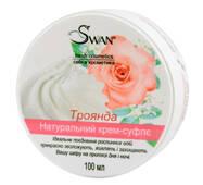 """Натуральный крем-суфле """"Роза""""  (увлажнение, питание, защита), 150 мл"""