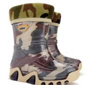 Гумові чоботи DEMAR STORMIC LUX PRINT e (Хакі), 20-27, купити в Україні