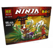 Конструктор Bela Ninjago, аналог LEGO (Нинзяго) 58 предметов