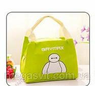 Термо сумка для детей Baymax зеленый