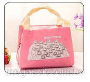 Термо сумка для детей Baymax розовый