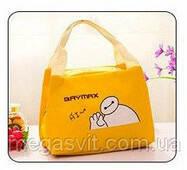 Термо сумка для детей Baymax желтый
