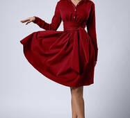 Жіноче офісне плаття  538