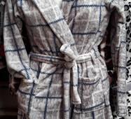Подростковый махровый халат велсофт