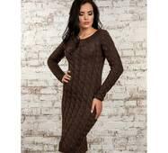 Жіноче в'язане плаття