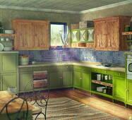 Деревянные кухни на заказ в Скандинавском стиле.