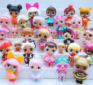 Семислойная игрушка –сюрприз кукла LoL с аксессуарами