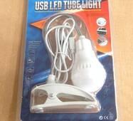 Лампа USB LED з затискачем А-006