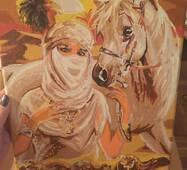 Картина «Східна принцеса» полотно