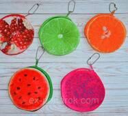 Брелок-ключниця 3d фруктів.