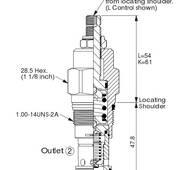 Картріджний клапан WINNER RP-3A-20-W-L купити в Україні