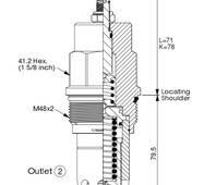 Картріджний клапан RP-18A-20-W-L купити в Рівному
