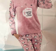Женская теплая пижама Турция 83288