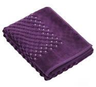 Банний килимок з кристалами SWAROVSKI з антибактеріальним захистом Фіолетовий