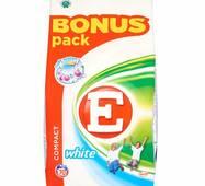 Пральний порошок E Active white 70 прань 5,25 кг (Австрия)