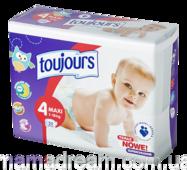 Підгузники Toujours 4 (7-18 кг) 50 шт