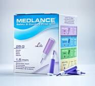 Ланцет автоматичний медичний Медланс плюс, легкий (light), 200 шт