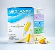 Ланцет автоматичний медичний Медланс плюс, спеціальний, 200 шт