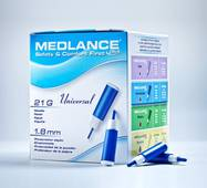 Ланцет автоматичний медичний Медланс плюс, універсальний (universal), 200 шт