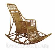 Кресло-качалка Черниговчанка из лозы