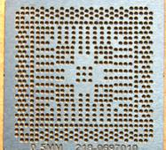 Трафарет ATI 218-0697010/014/20  0,5 мм