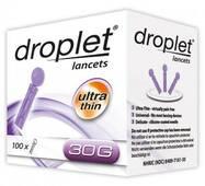Ланцети Droplet 30G, 100 шт.