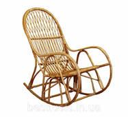 """Крісло-гойдалка """"Сім'я"""" з лози"""