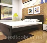 Ліжко ТИС ЕЛЕГАНТ 1 120*190 дуб