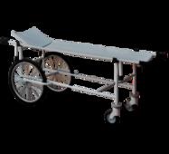 Візок для перевезення хворих зі знімними носилками посилена ТБС-150У
