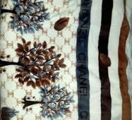 Плед на ліжко з мікрофібри (євро)
