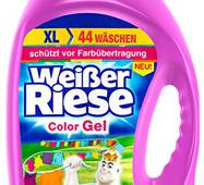 Гель для прання  Weißer Riese Intensiv Color 44 прань 3.212 л
