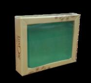 Глицериновое мыло ручной работы Luxone Бергамот - лайм, Вес 100 г.