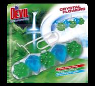 Гігієнічний блок для унітазу Dr. Devil WC Crystal Flowers Natur Fresh