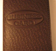 Обложка для банковских карт и визиток черный