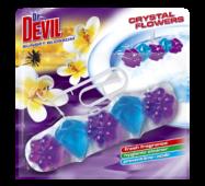 Гігієнічний блок для унітазу Dr. Devil WC Crystal Flowers Sunset blossom