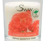 """Органическая соевая свеча """"Сладкая Роза"""" (200 г)"""