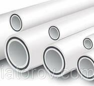 Труби полипропиленовые ø50 для опалювання, армована скловолокном