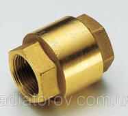 Зворотний клапан 3/4'' Tiemme, металевий затвор, Італія