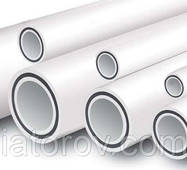 Труби полипропиленовые ø25 для опалювання, армована скловолокном