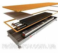 Внутрипольные конвекторы Polvax KV.300.2000.90/120 з вентилятором